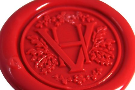 Wax Seal with Initials